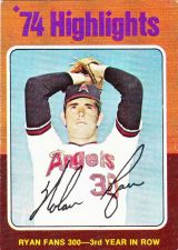 Buy 1975 #5 Nolan Ryan •• Strikes Out 300 — 3 Years In A Row