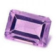 Buy AMETHYST - LIGHT PURPLE OCTAGON FACET - 0.75cts