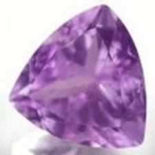 Buy AMETHYST - PURPLE TRILLIANT FACET - 0.51cts