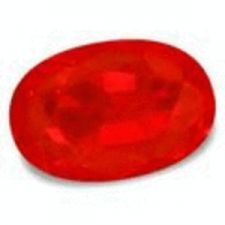 Buy RUBY NATURAL - BLOOD RED OVAL FACET - 0.40cts