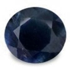 Buy MIDNIGHT BLUE SAPPHIRE - ROUND FACET - 0.435cts