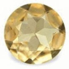 Buy TOPAZ - IMPERIAL ORANGE ROUND FACET - 0.166cts