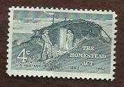 Buy 1962 4c Homestead Act Scott #1198