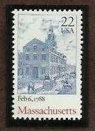 Buy 1988 22c Massachusetts Scott #2341 Unused