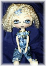 Buy Whimsy Dolls - Ooak Cloth Art Doll - Eloise