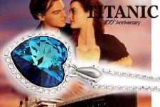 Buy Mini Titanic Heart of Ocean Women Popular Fashion Crystal Necklace (Imitation)