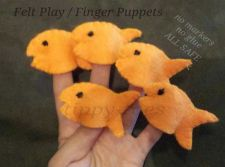 Buy Finger Puppets Felt Board Stort educational games Nursery Rhyme toys childrenju