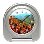 Buy Through The Mountains Desk Clock