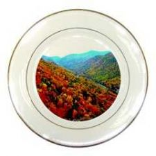 Buy Through The Mountains Porcelain Plate