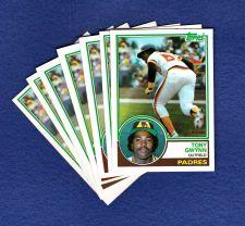 Buy 1983 Tony Gwynn ROOKIE CARD > > > Card #482