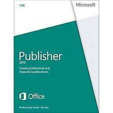 Buy Microsoft Publisher 2013 (1PC/1User)