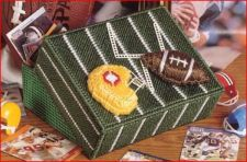 Buy Football Trinket Box Plastic Canvas PDF Pattern Digital Delivery