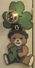 Buy St Paddys Doorknob Holder Plastic Canvas PDF Pattern Digital Delivery