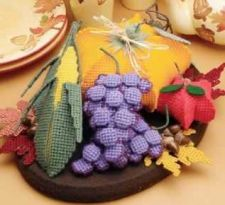Buy Fall Centerpiece Plastic Canvas PDF Pattern Digital Delivery