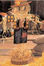 Buy Fall Scarecrow Plastic Canvas PDF Pattern Digital Delivery