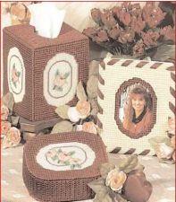 Buy Antique Rose Desk Set Plastic Canvas PDF Pattern Digital Delivery