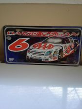 Buy David Ragan Auto Tag with Silver NASCAR Logo