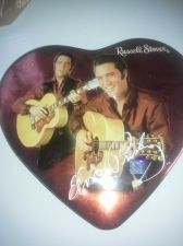 Buy Elvis Tin Stover Candy Container Heartshaped - Collector's Item