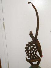 Buy An African Bamana antelope headdress