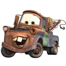 Buy Disney Pixar Cars Mater Peel & Stick Giant HUGE Wall Decal