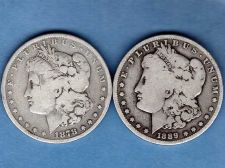 Buy Silver Dollars 1878S-1889O Morgan Head US Coins