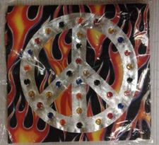 Buy Peace & Flames Bandanna Buzzsaw Los Angeles