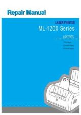 Buy Samsung ML-1210 XAA 0000051600 E 16 Service Manual by download #138678
