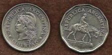 Buy Argentina 50 Centavos (1960) & 10 Pesos (1962)
