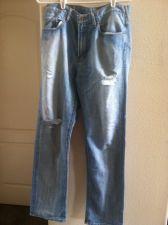 Buy Guess women's blue jeans
