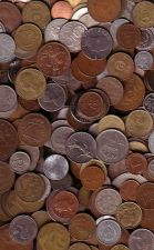 Buy ONE POUND (16 OZ) OF FOREIGN COINS
