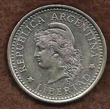 Buy Argentina 50 Centavos 1958 Capped Liberty Head Coin KM # 55