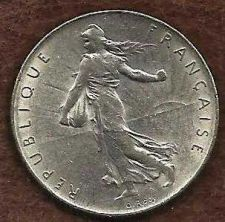 Buy France 1 Franc 1974 Coin, Vth Republic