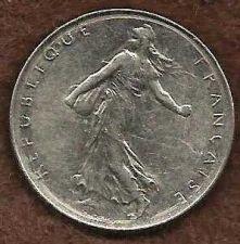 Buy France 1 Franc 1975 Coin, Vth Republic