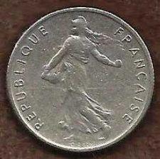 Buy France 1/2 Franc 1966 Coin, Vth Republic