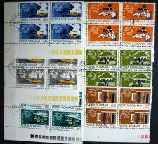 Buy Romania - 1974 - Centenary of Universal Postal Union - BLOCK of 4