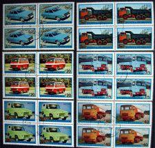 Buy Romania - 1975 - Automobiles / trucks - BLOCK of 4
