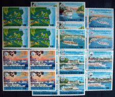Buy Romania - 1977 - Danube Navigation - BLOCK of 4
