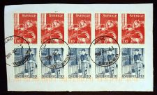 Buy SWEDEN / SVERIGE - 1977 USED BOOKLET PANE on paper