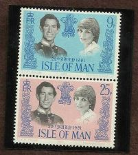 Buy ISLE OF MAN 1981 MNH STAMPS ROYAL WEDDING DIANA