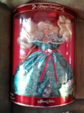 Buy HAPPY HOLIDAYS SPECIAL EDITION 1995 BARBIE DOLL NEW IN BOX