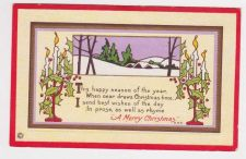 Buy Christmas early 1900's Postcard #1
