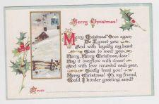 Buy Christmas early 1900's Postcard #21