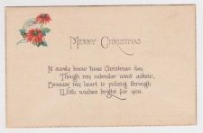 Buy Christmas early 1900's Postcard #28
