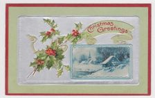 Buy Christmas early 1900's Postcard #29