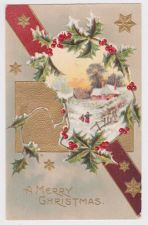 Buy Christmas early 1900's Postcard #36