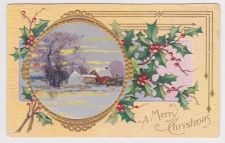 Buy Christmas early 1900's Postcard #38