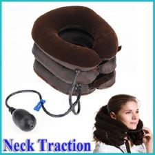 Buy BGG1 3-Layered Air-Inflated Cervical Vertebra Tractor Neck Brace Free shipping