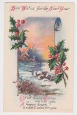 Buy New Year or New Years early 1900's Postcard #5