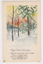 Buy New Year or New Years early 1900's Postcard #8
