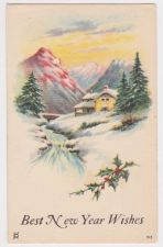 Buy New Year or New Years early 1900's Postcard #12